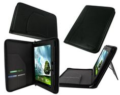rooCASE cartera ejecutivo (negro) Cubierta de funda de cuero para Asus Transformer Pad Infinite TF700T TF300T TF201T tablet - soporte horizontal / vertical vista B008MOKRBS - http://www.comprartabletas.es/roocase-cartera-ejecutivo-negro-cubierta-de-funda-de-cuero-para-asus-transformer-pad-infinite-tf700t-tf300t-tf201t-tablet-soporte-horizontal-vertical-vista-b008mokrbs.html