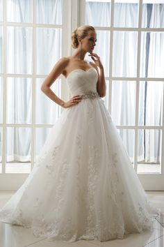 Faye - Brides by Harvee lace & tulle wedding dress