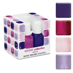 Essie Resort Mini Collection 2012 is a complete 4piece collection of shades from Essie's Resort Collection for 2012.  OH!  I LIKEY!!
