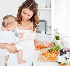 Menú para mujeres lactantes