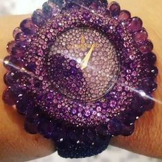 #amethyst #Grappoli #watch by @degrisogono via @jewelson57th