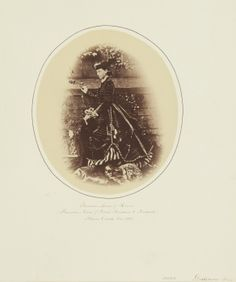 Princess Louis of Hesse, Floors Castle, 1865 [in Portraits of Royal Children Vol.9 1865]
