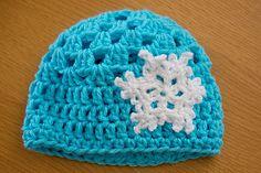 Crochet Frozen beanie | Flickr - Photo Sharing!