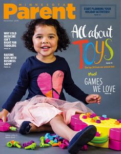 Check out this month's cute-as-can-be Cover Kid — 3 1/2-year-old Gabby of Maple Grove (playing with one of our favorite kid-tested toys, featured in this issue). Cover photo by Tracy Walsh / tracywalshphoto.com   Pick up a copy at one of our 900 FREE news racks (mnparent.com/racks) or read us right now on Issuu (issuu.com/minnesotaparent).