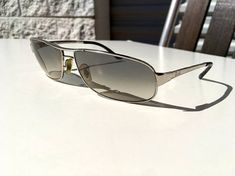 11054de72a6 Vintage Ray Ban sunglasses made in Italy grey shaded glass lenses