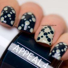 Inspired by a Pattern (My Nail Polish Online) Simple Nail Designs, Nail Art Designs, Nail Polish Online, Glitter Chevron, Dot Nail Art, Striped Nails, Nail Patterns, Get Nails, Creative Nails