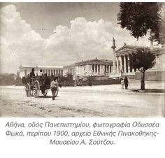 Greece Pictures, Old Pictures, Old Photos, Vintage Photos, Attica Athens, Athens Greece, Athens History, Greece History, Ancient Greek Architecture