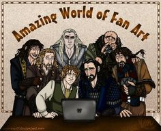 Their reactions to all the Thilbo, Thranduil/Thorin and Kili/Fili I post. ;) exactly how they would react...