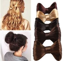 New Fashion Big Bow Ties Wig Hairpin Hair Bow Clips Women Girls' Hair accessories Free Shipping(China (Mainland))