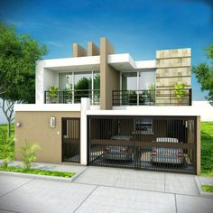 Proyect House Ideal Home, Beautiful Homes, My House, Sweet Home, Real Estate, Exterior, House Design, Architecture, Outdoor Decor