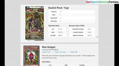 Opening The Virtual Yu-Gi-Oh! Trading Card Game Yugi Duelist Pack This video features the opening of Virtual Yu-Gi-Oh! Trading Card Game Yugi Duelist Pack. The Virtual Yu-Gi-Oh! Cards a part of the Virtual Yu-Gi-Oh! Trading Card Game Yugi Duelist Pack that are featured in the video encompass Red Gadget Brain Control Jack's Knight Swords Of Revealing Light Exchange Mirror Force Catapult Turtle Kuriboh and Lightforce Sword.