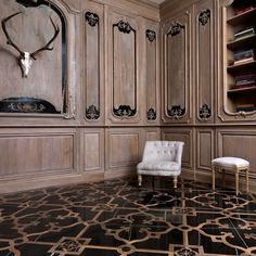 The Vassalletti Craftsmen in Tuscany... Oak, woodwork, and marble