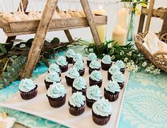 Bohemian Mint and Blue Baby Shower - Inspired By This
