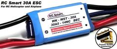 RC #Model Airplane / Helicopter 30A Brushless Motor Speed Controller ESC SL031 with RCECHO Full Version Apps Edition $13.50