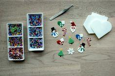 perleplade, lav perler, hamaperler, små perler, jul med perleplader