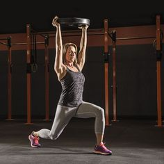 Overhead Lunge Exercise Works Nearly Every Muscle Group