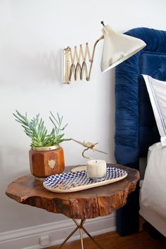 Bedroom and Night stand styling: 1 room, 3 different looks