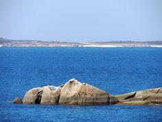 Playas de la isla de Sálvora.