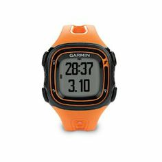 Buy your Garmin Forerunner 10 GPS Running Watch Orange - Watches from Wiggle. Our price . Running Watch, Running Gear, Smartwatch, Sport Watches, Watches For Men, Gps Watches, Garmin Vivosmart Hr, Gps Tracking, Fitness Watch
