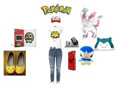 """""""pokemon"""" by anjinha1267 on Polyvore featuring moda, River Island, Markus Lupfer e Valor"""