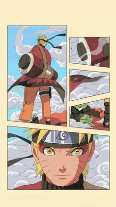 Naruto Uzumaki (うずまきナルト, Uzumaki Naruto) is the title character and main protagonist o. - Shounen And Trend Manga Naruto Vs Sasuke, Anime Naruto, Naruto Tumblr, Art Naruto, Naruto Sage, Naruto Drawings, Naruto Shippuden Anime, Manga Anime, Shikamaru