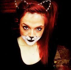 Fox facepaint make up