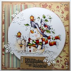 The Hobby House Wee Stamps - Cozy Christmas