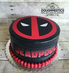 Dead Pool Cake by Sweet Doughmestics