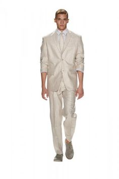 Beach Wedding Attire: Groom's Suit by Perry Ellis   OMGOSH!!!!  WITH A AQUA / MINT TIE!!!!  YES!!!  LOVE IT!!!!!