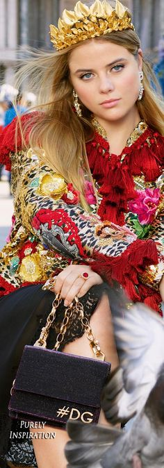 Dolce & Gabbana SS2018 Handbag | Purely Inspiration