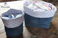 Aujourd'hui, c'est Sarah qui nous fait un tuto sur comment faire des paniers de rangement à partir de tissus récup : http://www.eco-createurs.com/diy-panier-de-rangement/