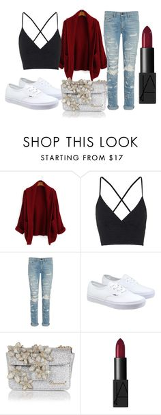 """Untitled #23"" by queenboyd23 on Polyvore featuring Topshop, rag & bone, Vans, Dsquared2, NARS Cosmetics, women's clothing, women's fashion, women, female and woman"
