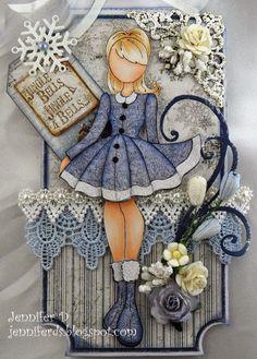 Valentina Prima Doll Stamp