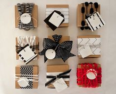 obsessing over gift wrap ideas.