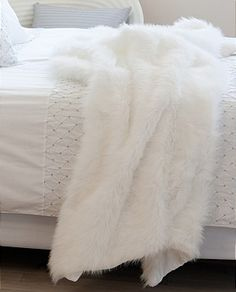 A deliciously fuzzy throw for the couch