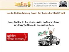 The 7 Best Buy Car With Bad Credit And No Money Down Images On