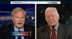 Chris Matthews on Jimmy Carter's Failure to Cheer Hillary in 2016: A 'Sin of Omission' | Media Research Center