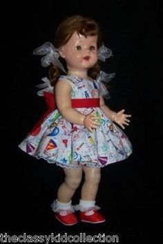 Saucy Walker~I remember asking Santa for her. I literally dreamed about the day I would get her to have for my very own.