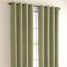 For office-BrylaneHome Studio ® Canvas Grommet Curtain & Roman Shade