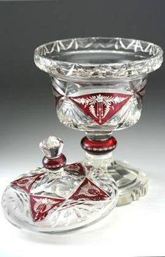 191020 karl palda crystal vase w engraved ruby panels - photo angle #4