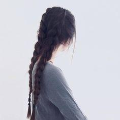 braid hairstyles for long hair Tutorial Pretty Hairstyles, Braided Hairstyles, Hair Inspo, Hair Inspiration, Look Girl, Dream Hair, Gorgeous Hair, Gorgeous Makeup, Hair Day