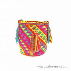 Authentic Wayuu Bags Wayuu Mochilas Bags~wybag-298