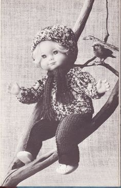 Albumarkiv - Jeg strikker dukketøj Baby Born, Baby Booties, Crochet Hats, Booty, Album, Knitting, Fashion, Tricot, Pictures