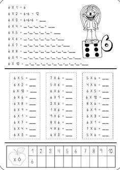 Mental Maths Worksheets, 2nd Grade Worksheets, School Worksheets, 3rd Grade Math, Math Activities, Teaching Multiplication, Teaching Math, Math For Kids, Fun Math