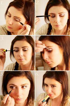 1960s make up tutorial. #make-up #tutorial #60s