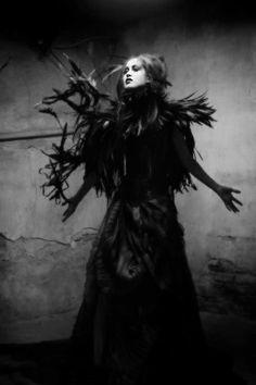 Model - Daph Punk,  Photography - Kyle Cassidy,  Alex London Fashion House
