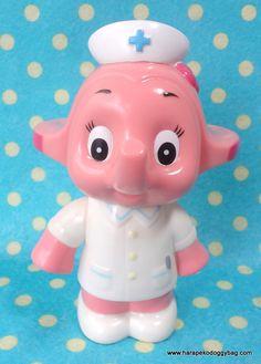 3 Lot Japan Sato Chan Satoko Chan Pink Finger Figure Toy