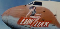 """Lady Luck"" #noseart"