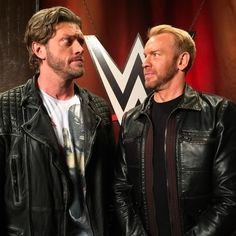 Get ready #WWEUniverse, it's time for The Cutting Edge Peep Show with @edgeratedr and #Christian! #WWEFastlane