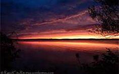 Sunset on Torch Lake.
